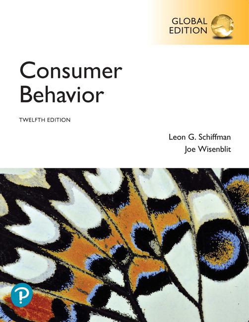 Consumer Behavior, Global Edition, 12e (e-Book VS 12m)
