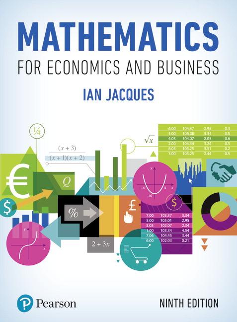 Mathematics for Economics and Business eBook VS-12 months