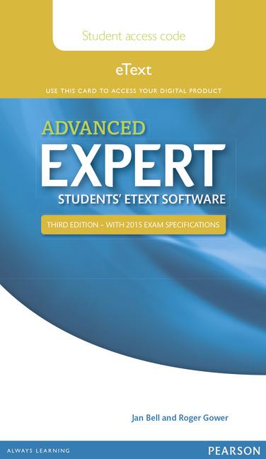 Expert Advanced NE for 2015 Exam Student eText Access Card