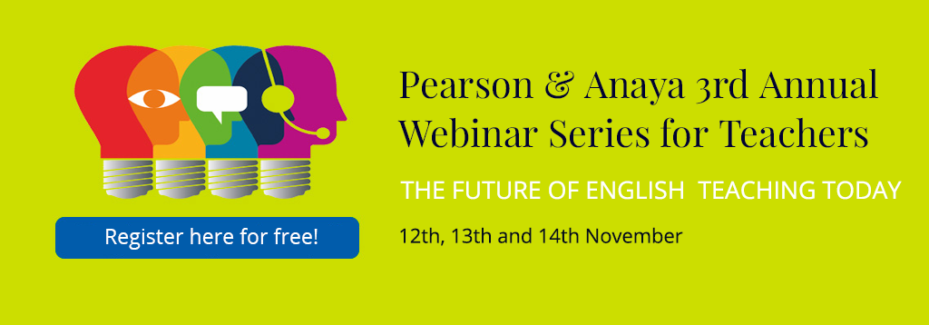 Pearson & Anaya 3rd Annual Webinar Series for Teachers
