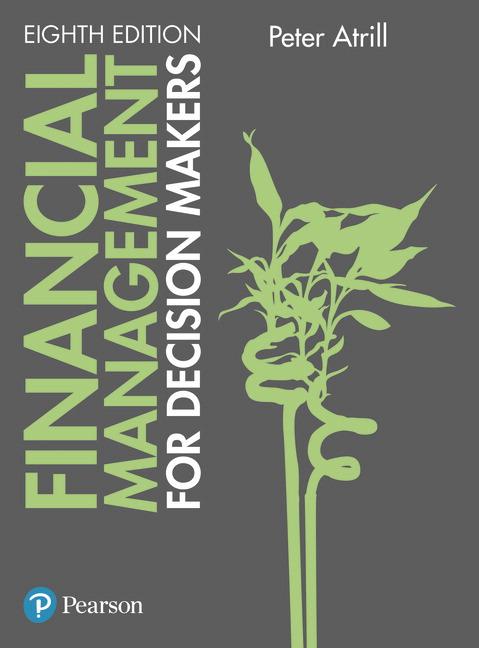 Financial Management for Decision Makers, 8e (e-Book VS 12m)