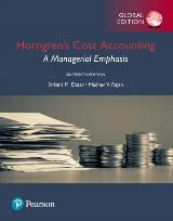 Horngren's Cost Accounting A Managerial Emphasis