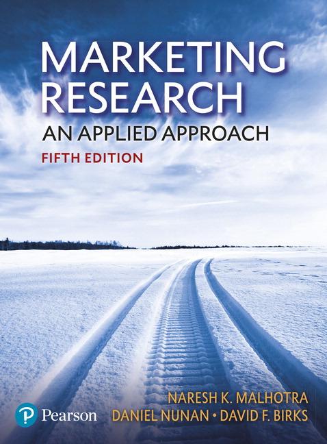 Marketing Research, 5e (e-Book VS 12m)
