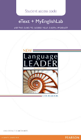 New Language Leader Elementary eText and MyEnglishLab Online Access Code