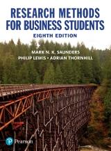 Research Methods for Business Students, 8e (e-Book VS 12m)