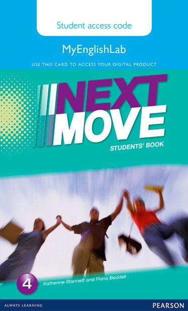 Next Move 4 MyEnglishLab Student online access code