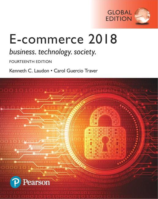 E-Commerce 2018, Global Edition, 14/E (e-Book VS 12m)