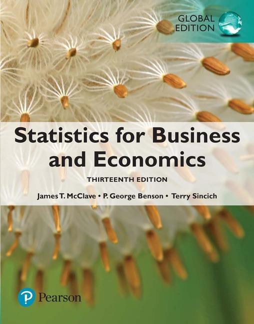 Statistics for Business and Economics, 13e (e-Book VS 12m)
