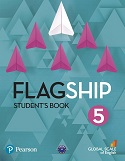 Flagship-Level-5-Students-Book-wich-My-English-Lab-1ed-book
